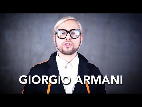 How to pronounce GIORGIO ARMANI