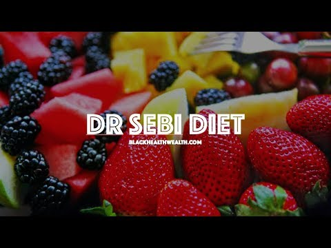 Dr Sebi Lecture Explains His Mucus-less Diet and Food List for Alkaline Healing