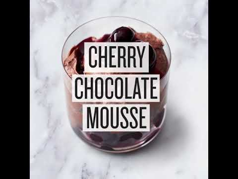 Jamie Oliver 5 Ingredients - Quick & Easy Food: Cherry Chocolate Mousse