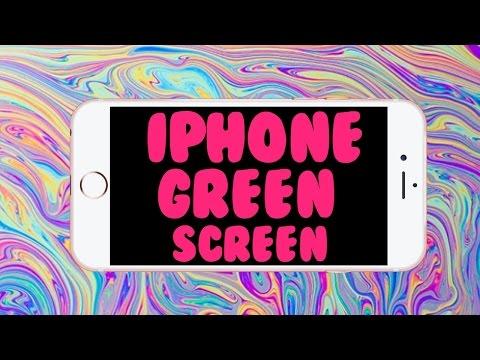 TUMBLR IPHONE GREEN SCREEN!