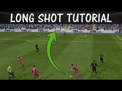 FIFA 15 LONGSHOT TUTORIAL / How to score goals from long distance / Shooting Tricks / FUT & H2H
