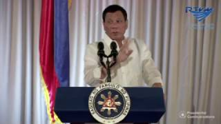 President Duterte criticizes Catholic priests, bishops during PNP oath taking speech