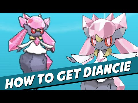 How to GET DIANCIE in Pokemon X & Y! (UPDATED! TRADEABLE!) [07/23/2014 - Update for Powersaves]