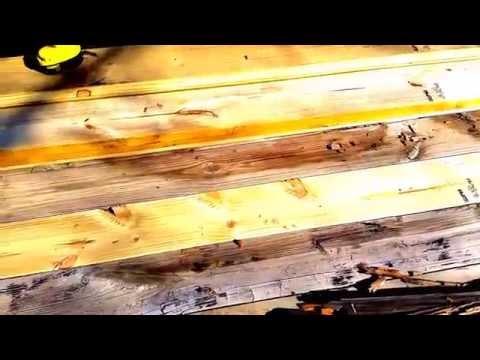 Replacing a trailer board (no welding or cutting)