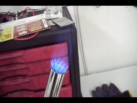 Building a bigger blowtorch