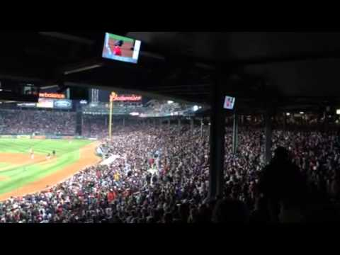 The Wave at Fenway Park
