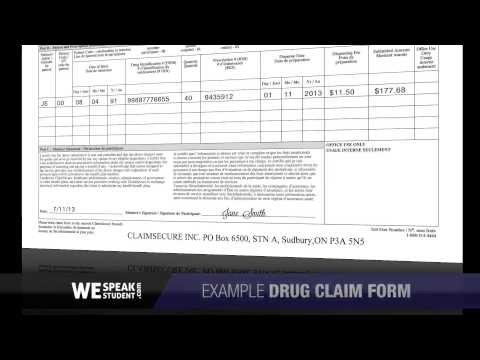 Filling out your Claim Forms