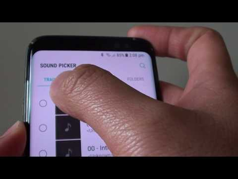 Samsung Galaxy S8: How to Set MP3 Song as a Ringtone