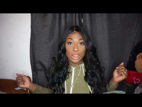 How to Pin curl hair & weave