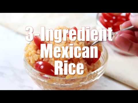 How to make: 3-Ingredient Mexican Rice