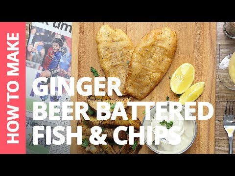 Ginger Beer Battered Fish & Chips | Recipe by Plated Asia