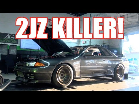 2JZ Killer hits the Dyno and weight scale! - TRC R32 GTR Build Episode 3