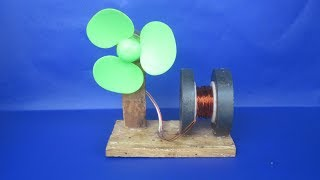 Free energy fan with copper wire self running magnets - Science & Technology 2018