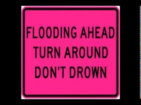 Flash Flood Captured on Video January 2016