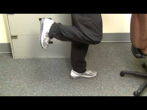 Desk Exercises: Legs