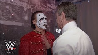 WWE Network: See what went on backstage between Triple H, Sting and Mr. McMahon on WrestleMania 24