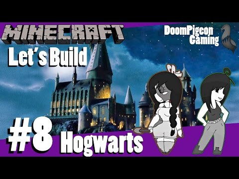 Minecraft: Let's Build Hogwarts #8 - Boats & Silverfish
