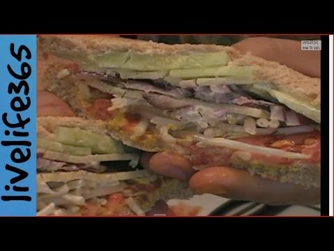 How to...Make a Killer Tomato, Cucumber, Bean Sprout and Cheese Sandwich
