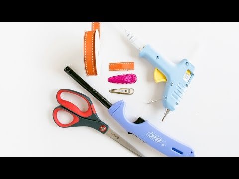 DIY Covered Snap Clip tutorial