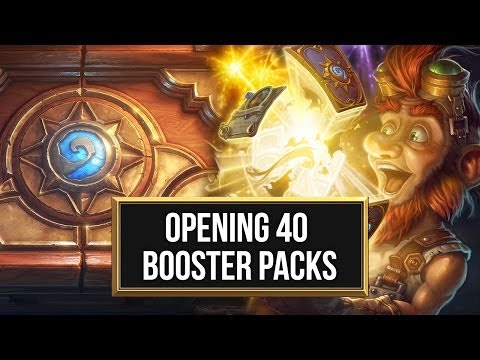 Hearthstone Beta: Opening & Buying 200 Cards in 40 Packs (Booster Packs)