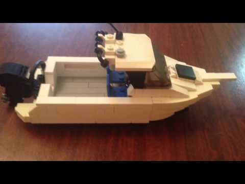 TUTORIAL: How to build a LEGO boat!