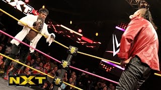 Shinsuke Nakamura is interrupted by Patrick Clark: WWE NXT, Oct. 19, 2016