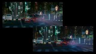 Death of Han Furious 6 Tokyo Drift Scenes Side By Side