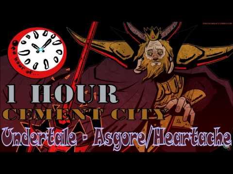 Undertale - Asgore/Heartache (Cement City Remix) 1 hour