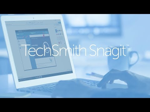 TechSmith Snagit 2018 Overview