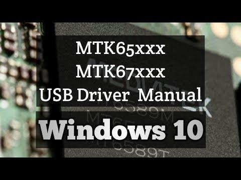 Mtk65xx USB VCOM Driver Manual Install  Windows 10 | Driver Signature Enforcement Fix