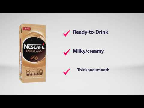 Nescafe chilled latte