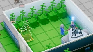 Building a Hospital that treats its patients with houseplants in Two Point Hospital