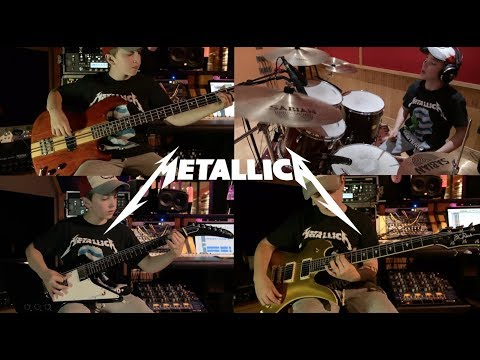 Master of Puppets - Metallica (Multi-Instrumental Cover) by 13 Year Old