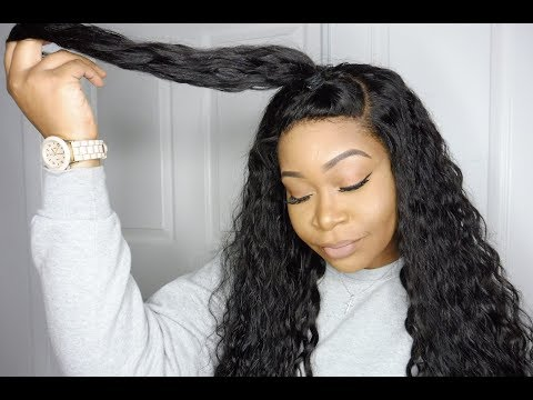 Another Amazon.com Hair Review   Brazilian Water Wave Lace Frontal & Hair   VIP Beauty