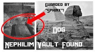 Nephilim Vault found just behind Sphinx! 7 Gigantic Coffins! All hushed up. Coffins