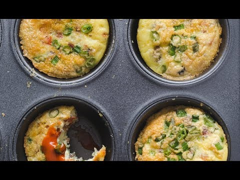 Whole30 Egg Muffins - paleo