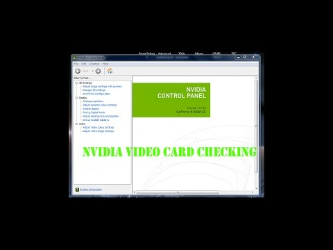 Check if your Nvidia Graphics card is working or not in super easy way!!