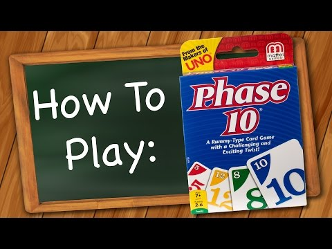 How to Play: Phase 10