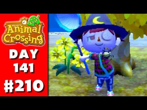 Animal Crossing: New Leaf - Part 210 - Spider! (Nintendo 3DS Gameplay Walkthrough Day 141)