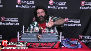 TOY TIME WITH MICK FOLEY: WWE Authentic Scale Ring Ringside Collectibles Exclusive Review!