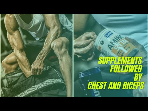 Shamsul Ali - supplements, chest and biceps workout.