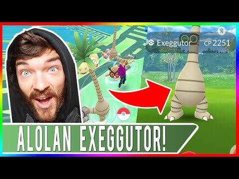 ALOLAN EXEGGUTOR RELEASED IN POKEMON GO! 100% IV Alolan Exeggutor Caught PLUS 2 New Shiny Pokemon!
