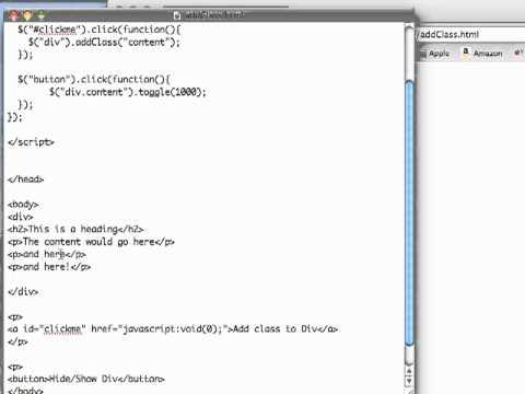 JS 4U 63: Dynamically Add a CSS Attribute