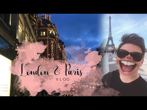 Chrisobv // London & Paris VLOG