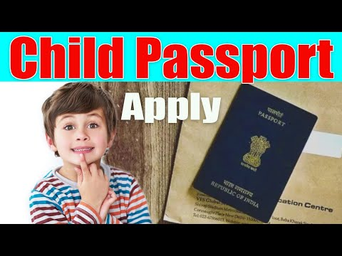 How To Apply Minor Passport And Required Documents
