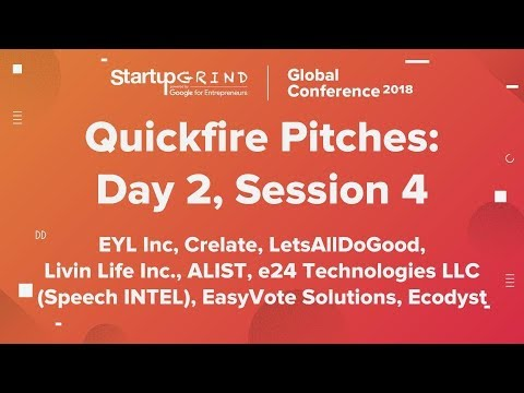 Quickfire Pitches | Day 2, Session 4