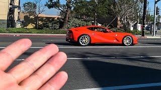 Car Show FAIL: They Chose a Ghibli Over a Ferrari 812 SuperFast