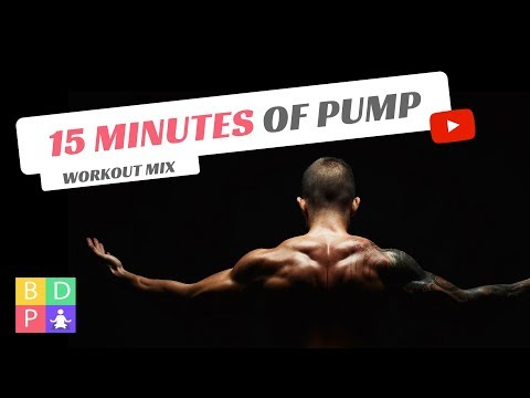 15 Minute Workout Electro Mix #1 – Get Pumped! (With Timer)