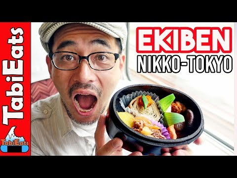 Japanese Train Food Review EKIBEN (Nikko to Tokyo)