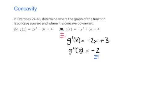 Concavity (p. 286 #30)
